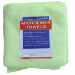 Microfiber Towel Yellow